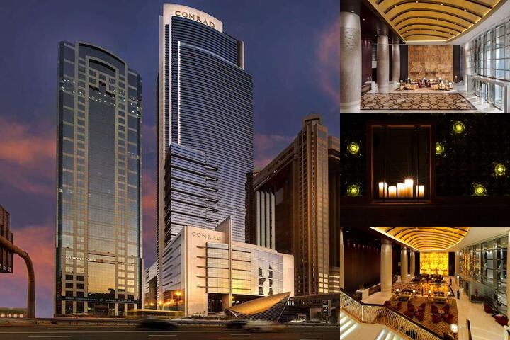 Conrad Dubai photo collage