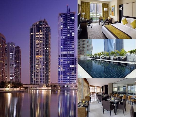 Mövenpick Hotel Jumeirah Lakes Towers photo collage
