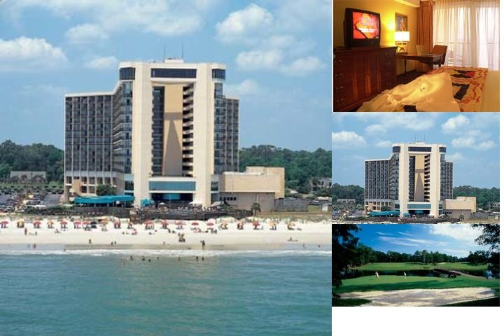 Hilton Myrtle Beach Resort photo collage