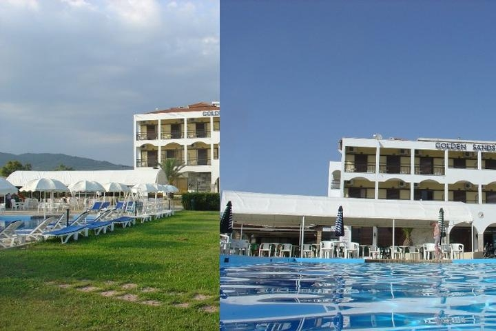 Golden Sands Hotel photo collage