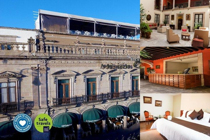 Hotel Mision Catedral Morelia photo collage