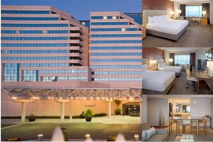 Hyatt Regency Santa Clara photo collage