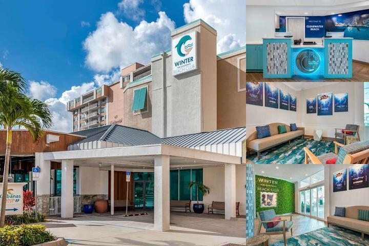 Quality Beach Resort photo collage