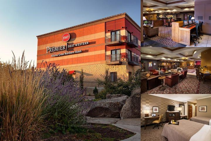 Best Western Premier Helena Great Northern Hotel photo collage