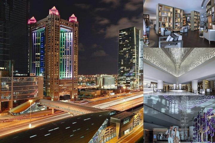 Fairmont Dubai photo collage