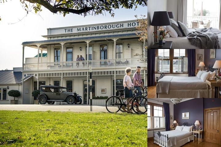 The Martinborough Hotel photo collage
