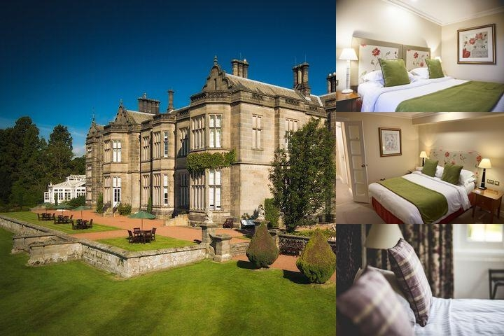 Matfen Hall Hotel photo collage