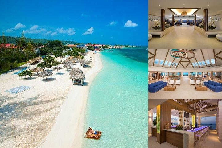 Sandals Montego Bay All Inclusive photo collage