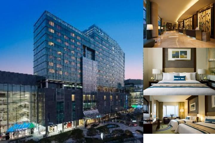 Courtyard by Marriott Seoul Times Square photo collage