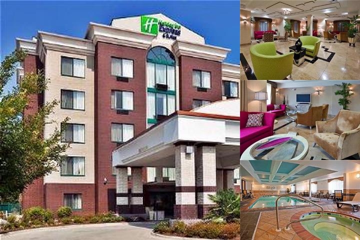 Holiday Inn Express & Suites Birmingham Inverness photo collage