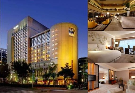 The Westin Taipei photo collage