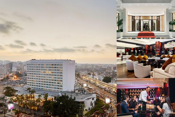 Hyatt Regency Casablanca photo collage