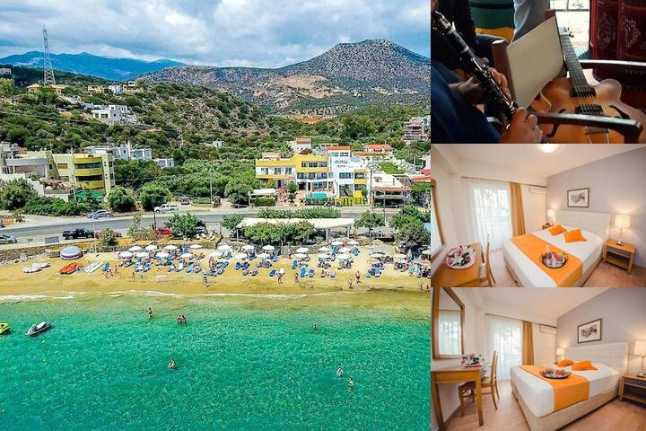 Faedra Beach Hotel photo collage