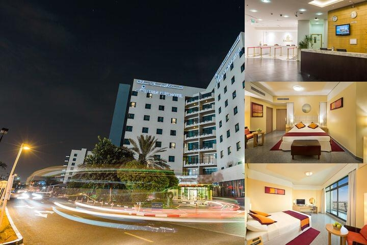 Arabian Park Hotel photo collage