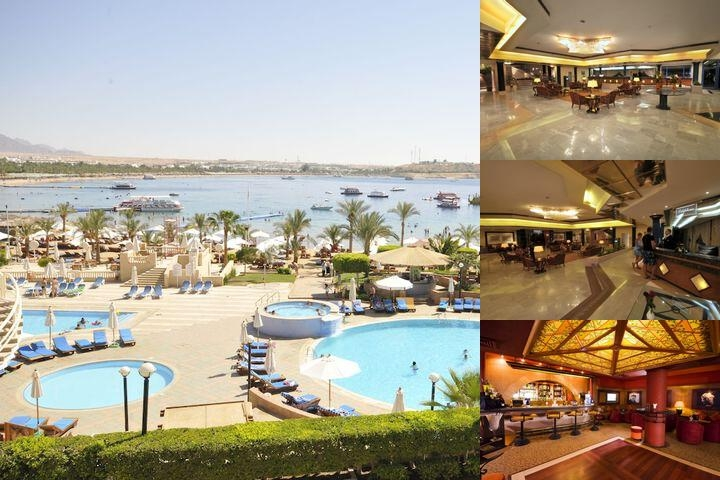 Helnan Marina Sharm Hotel photo collage
