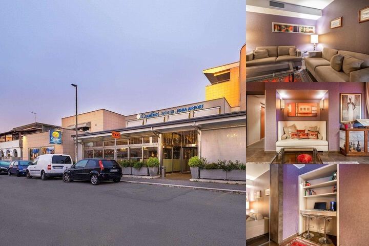 Comfort Hotel Roma Airport photo collage