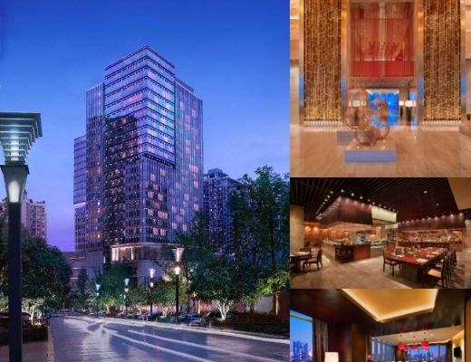 Hyatt Regency Chongqing photo collage