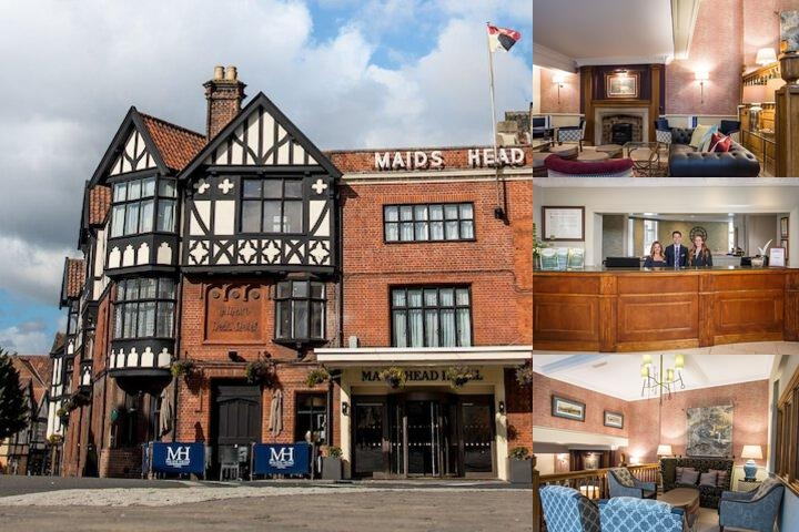 The Maids Head Hotel photo collage