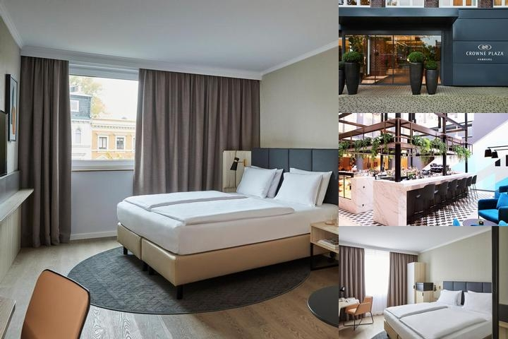 Crowne Plaza Hamburg City Alster photo collage