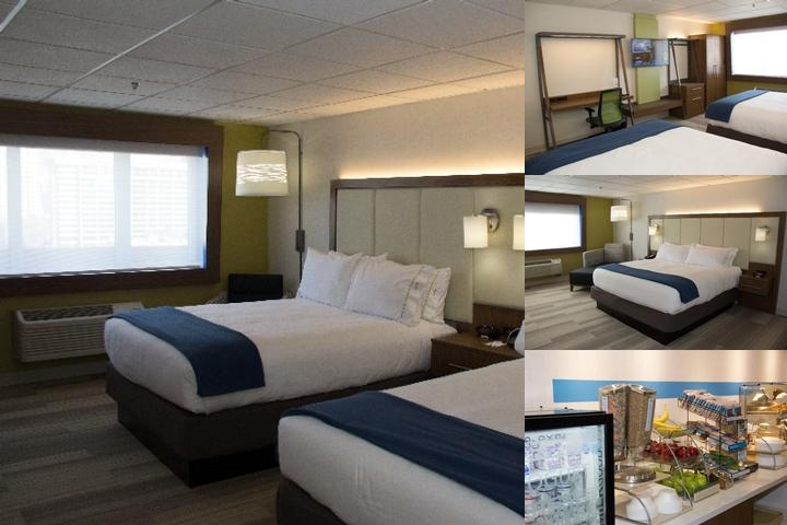 Holiday Inn Express Downtown Salt Lake City photo collage