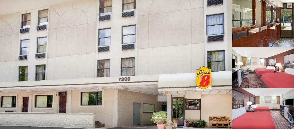 Super 8 motel chicago chicago il 7300 north sheridan rd for Motels in chicago