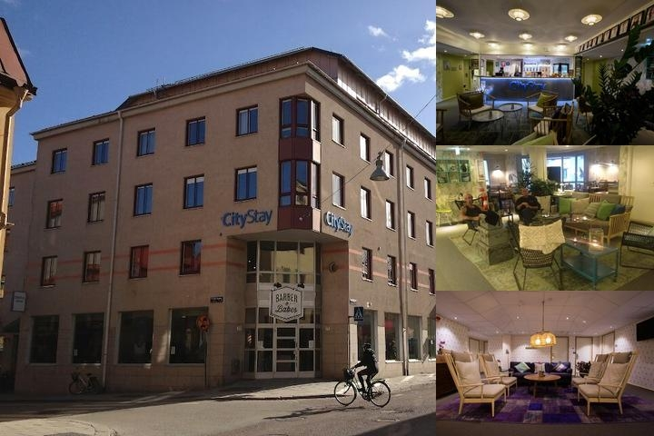 Citystay Hotel Uppsala photo collage