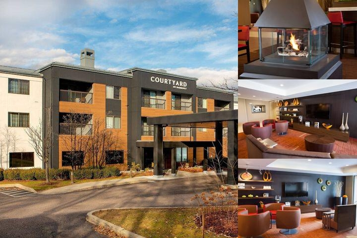 Courtyard Marriott Burlington Williston photo collage