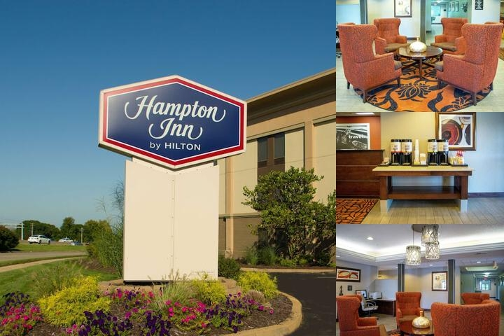 Hampton Inn St. Louis Chesterfield photo collage