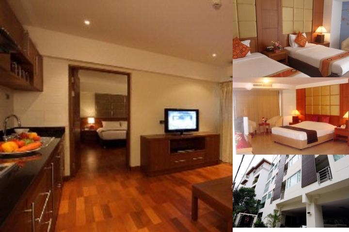 Bally's Studio Suites Sukhumvit photo collage