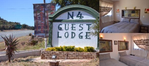 N4 Guest Lodge photo collage