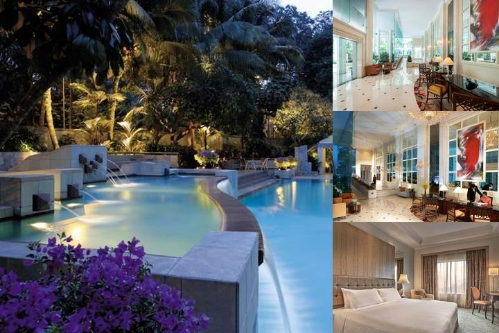 Shangri La Apartments Singapore photo collage