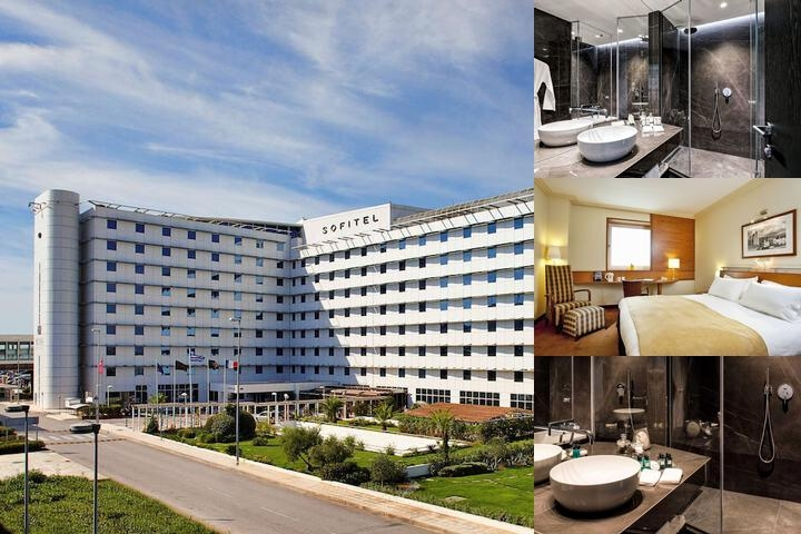 Sofitel Athens Airport photo collage