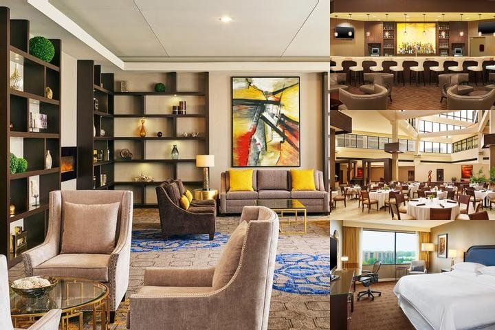 Sheraton Lisle Hotel photo collage