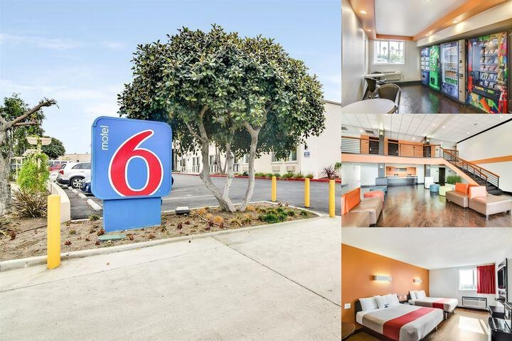 Motel 6 Carson photo collage