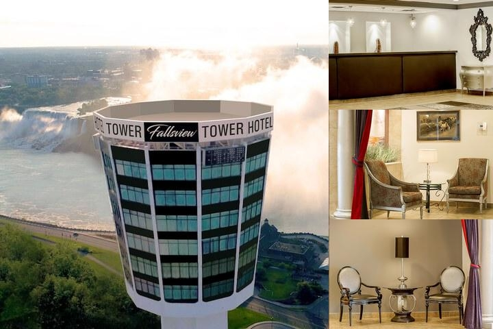 The Tower Hotel photo collage
