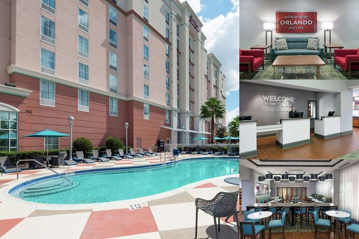Hampton Inn & Suites Orlando Airport at Gateway photo collage