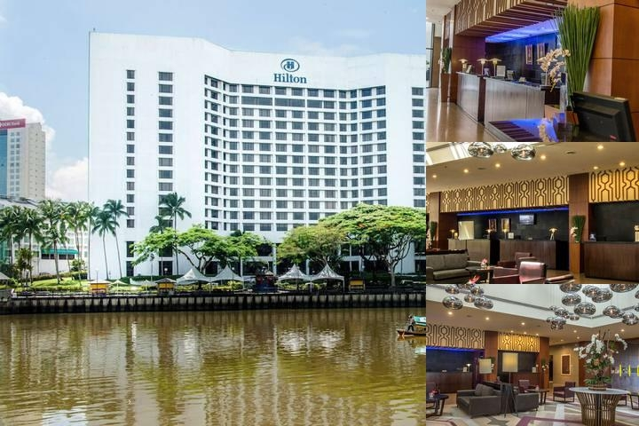 Hilton Kuching photo collage