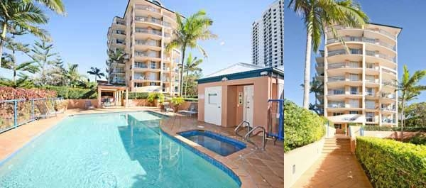 San Mateo on Broadbeach photo collage