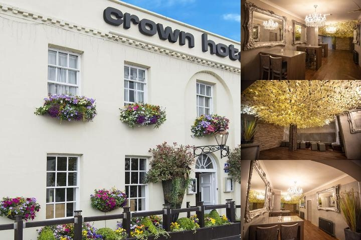 The Crown Hotel photo collage
