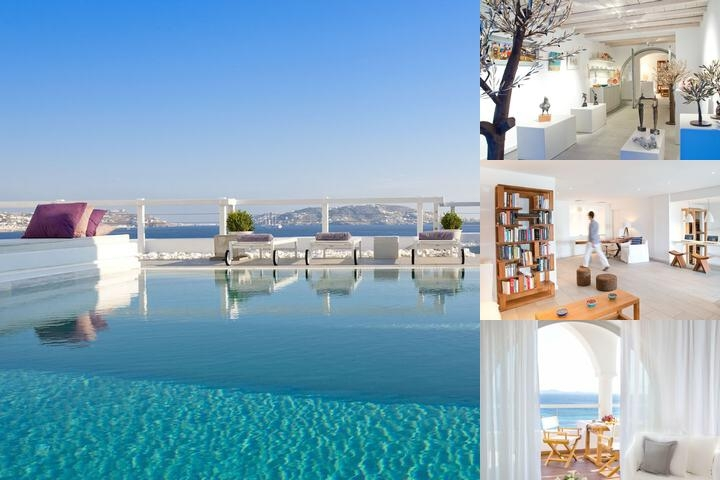 Grace Mykonos photo collage