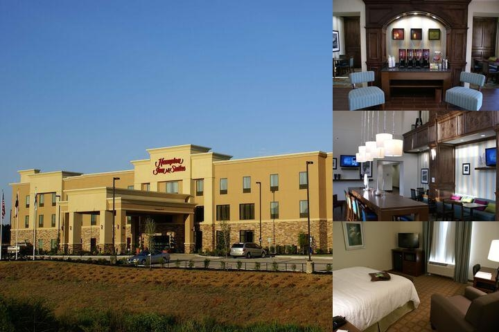 Hampton Inn & Suites Center Texas photo collage