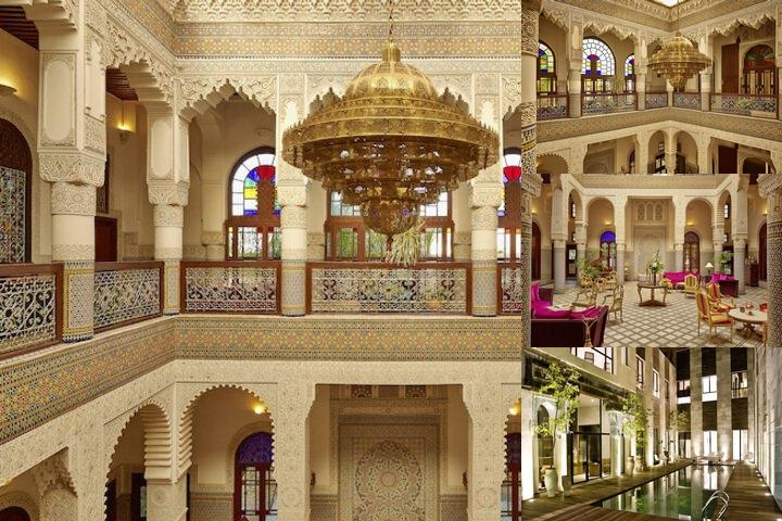Riad Fes photo collage