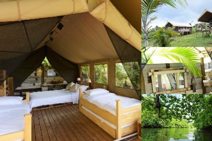 Otentic Eco Tent Experience photo collage