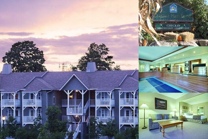 Carriage Ridge Resort at Horseshoe Valley photo collage