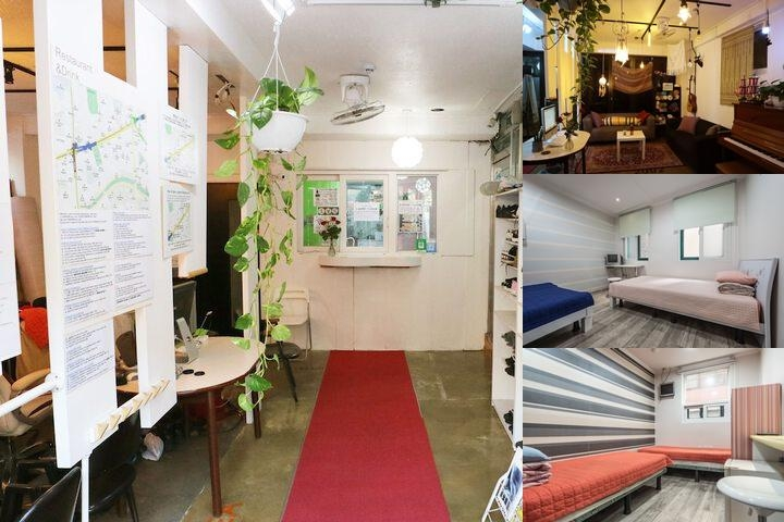 Hostel Korea photo collage