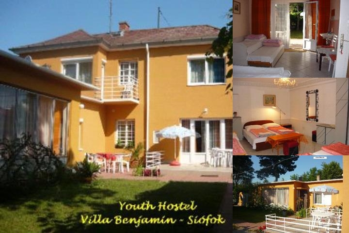 Youth Hostel Villa Benjamin Siófok photo collage