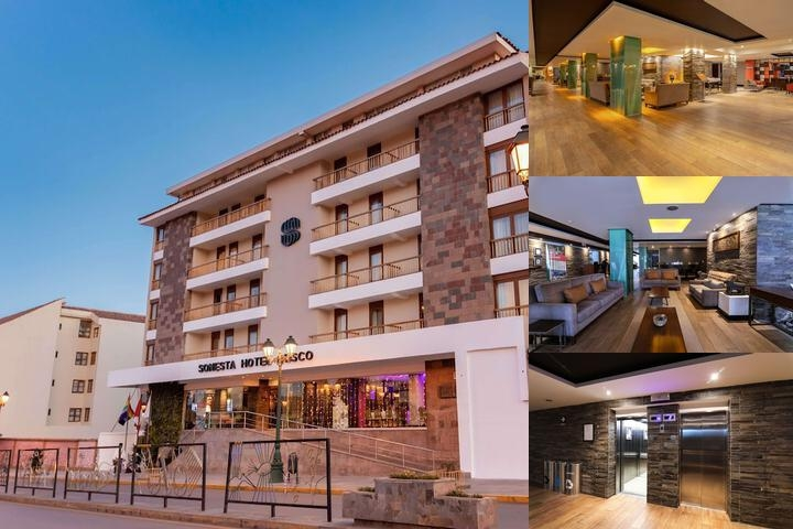 Sonesta Hotel Cusco photo collage