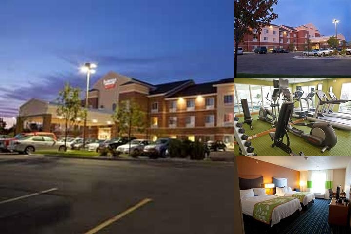 Fairfield Inn & Suites Fenton Michigan photo collage