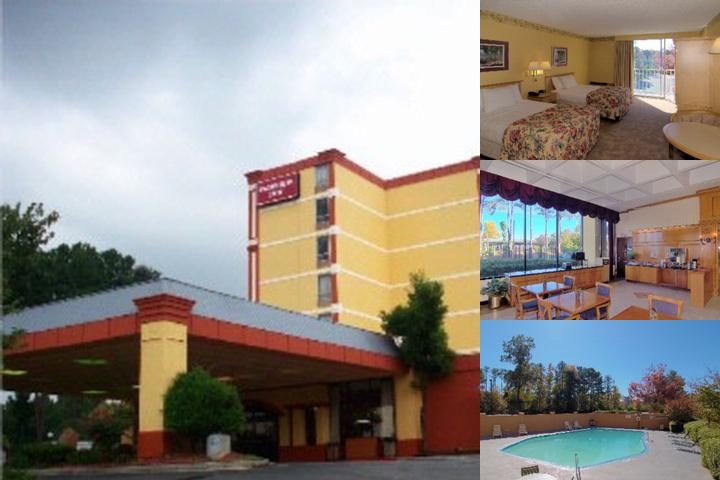 Fairview Inn / Six Flags photo collage