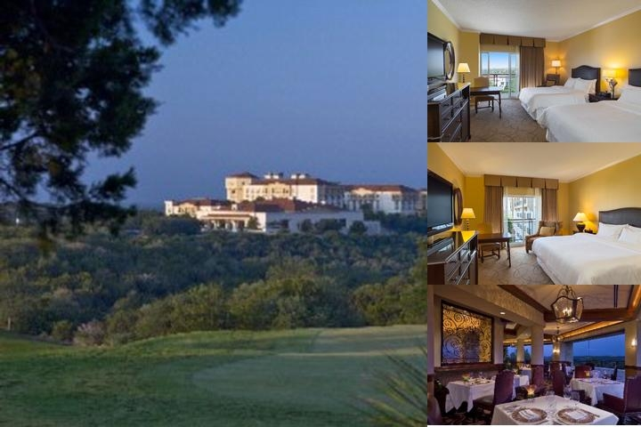 La Cantera Hill Country Resort photo collage